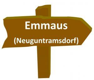 Schild Emmaus
